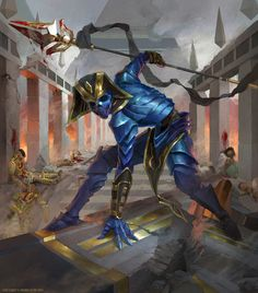 Proven Combatant - MTG by ClintCearley