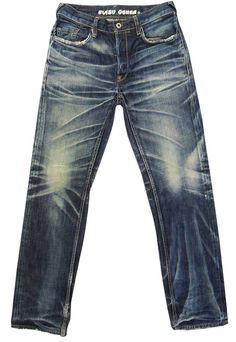 NWT Handmade Amazing Wash EVISU Selvedge Denim Jeans on Behance