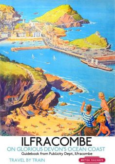 A Vintage Railway Advertising Poster Available in Sizes Printed on High Quality Glossy Photo Paper Unframed Ideal for Home Office Hotels Seaside Uk, British Seaside, Seaside Towns, Train Posters, Railway Posters, British Travel, Travel Uk, Travel Tips, Wall Prints