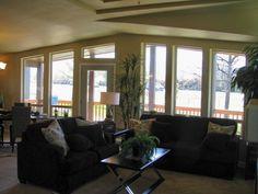 Living Room Windows The Metolius Cabin At Palm Harbor Homes In Phoenix Oregon 2 Bedrooms Baths 1496 Sq