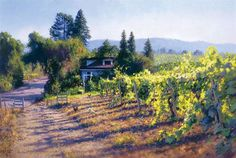 My Sonoma, June Carey LIMITED EDITION CANVAS