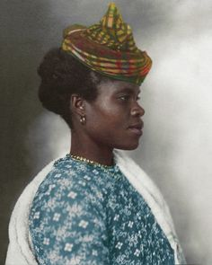 """""""Guadeloupean Woman"""", 1911 