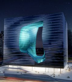Zaha Hadid : The Opus in Dubai. Due in 2011... was it killed by the crisis ?