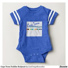 Cape Town Toddler Bodysuit