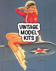 Vintage Model Kits from Monogram & Revell. Planes, Trains, Cars, Boats and more.