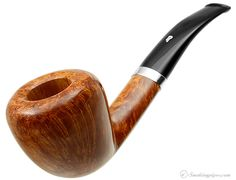 New Tobacco Pipes: Rinaldo Triade Bent Acorn with Silver (YYY) (1) at Smokingpipes.com