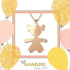 Namuri Baby Gold - Un gioiello prezioso, come l'amore di una Mamma. Scopri l'intera collezione su ItcPortale.it  https://itcportale.it/namuri-diamond/