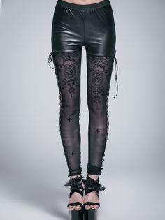 photo n°1 : Leggings gothique romantique DEVIL FASHION