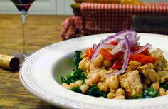 Foodist Approved: Cannellini Bean and Tuna Salad with Giardiniera | Summer Tomato