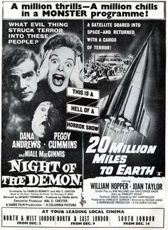 20 MILLION MILES TO EARTH 05 B-MOVIE REPRODUCTION ART PRINT A4 A3 A2 A1
