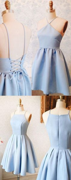 sly blue homecoming party dresses, short prom gowns, semi formal dresses, elegant fashion party dresses.