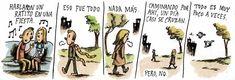 Colección de viñetas de Liniers