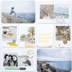 magda mizera   scrapbooking, photography and more: PROJECT LIFE - SUNSHINE IN SPAIN