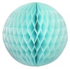 Turquoise honeycomb ball