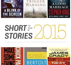Best short stories to read in 2015