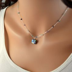 NEW Abalone Necklace Sterling Silver London Blue by livjewellery, $77.00 https://www.etsy.com/listing/196830723/new-abalone-necklace-sterling-silver?ref=listing-0