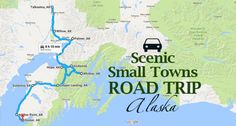 Take This Road Trip Through Alaska's Most Picturesque Small Towns For A Charming Experience