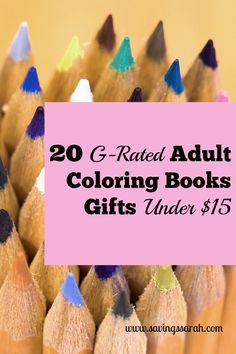 Adult Coloring Books have been skyrocketing in popularity. Be a gift giving champion when you choose from among these 20 Adult Coloring Book Gifts Under $15. Your wallet will thank you too!