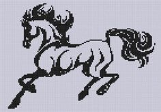 Horse 13 Cross Stitch Pattern  - via @Craftsy