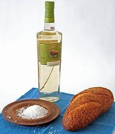 """""""Bread that the house never knows hunger, Salt, that life may always have flavor. And wine, that joy and prosperity may reign forever."""" - 3 symbolic gifts and a brief, heartfelt speech - Its a Wonderful Life and/or old Polish wedding tradition"""