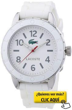 Lacoste 2000689 - Reloj analógico de cuarzo para... #reloj #mujer
