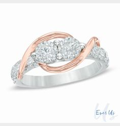 08091f169 Love this EVER US ring Zales Jewelry, Gold Rings Jewelry, Diamond  Jewellery, Jewelry