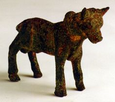 Iron Age Sculpture of a Young Bull - FZ.135 Origin: Syria Circa: 900 BC to 600 BC