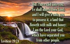 Leviticus 20:24