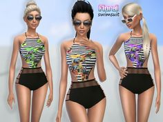 Sims 4 CC's - The Best: Swimsuit by Puresims