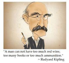Rudyard Kipling on Red Wine