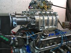 blown small block ford - Google Search