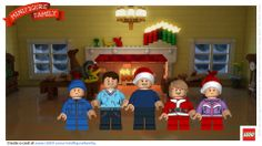 Check out my new holiday card! Create a LEGO Minifigure version of your family's holiday card at www.LEGO.com/MinifigureFamily #MinifigureFamily @LEGO