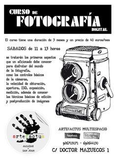 Curso de fotogrfia en artefactus