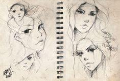 sketches#05. by Lady2.deviantart.com on @DeviantArt