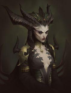 Fantasy Warrior, Dark Fantasy Art, Fantasy Girl, Dnd Characters, Fantasy Characters, Female Characters, Character Concept, Character Art, Concept Art