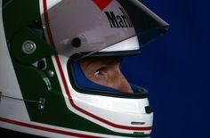 Andrea De Cesaris dies in a motorcycle accident