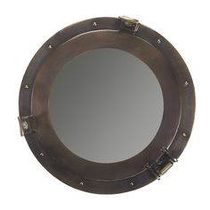 Found it at Wayfair - Nautical Cabin Porthole Mirror