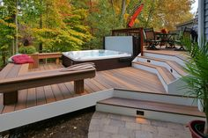 Trusted, comprehensive guidance for building decks that are durable, code compliant, and beautiful Decking Planks, Pvc Decking, Composite Decking, Home Building Tips, Building A Deck, Deck Maintenance, Treads And Risers, Patio Deck Designs, Hot Tub Deck