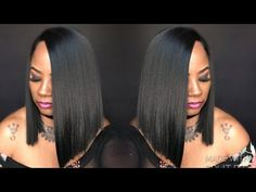 Side Part Blunt Cut, Side Part Bob, Blunt Cuts, Lace Front Wigs, Lace Wigs, Quick Weave Styles, Hype Hair, Bob Weave, Affordable Wigs
