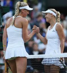 Some female tennis players have reportedly been forced to play bra-less at Wimbledon due to the All England Club's all-white policy. Tennis Wear, Sport Tennis, Naomi Broady, Wimbledon Tennis, Tennis Players Female, Billie Jean King, Tennis Championships, Tennis Clothes