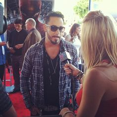 AJ McLean of The Backstreet Boys at 'The Amazing Spider-Man' premiere