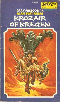 Alan Burt Akers. Krozair of Kregen.