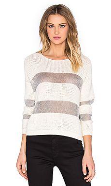SUNCOO Penelope Sweater in Blanc Casse