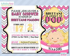 Getting ready to pop baby shower invitation popcorn printable about to pop baby shower invitations printable by lullabyloo filmwisefo