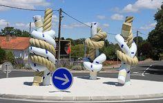 St-Georges-de-Didonne. Sculpteur Jean-Luc Plé.Charente-Maritime