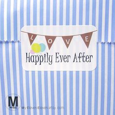 Check out this item in my Etsy shop https://www.etsy.com/listing/189913868/50-happily-ever-after-wedding-envelope