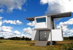 container architecture - zerohouse field rendering