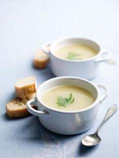 Soupe de céleri blanc