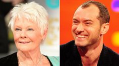 Dame Judi Dench and Jude Law are among the acting nominees in the running for this year's Olivier Awards.