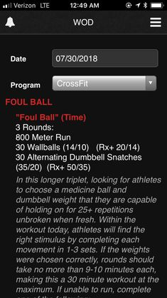 Crossfit Workouts At Home, Treadmill Workouts, Hiit, Sunday Workout, Wod Workout, Fitness Classes, Physical Fitness, Conditioning Workouts, Medicine Ball